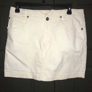 Free People Off-White Skirt Size 30